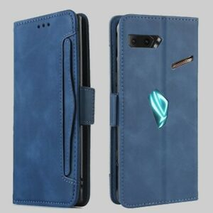 Wallet Cases For Asus ROG Phone 2 ZS660KL Case Magnetic Book Flip Phone Covers