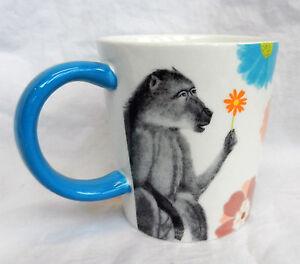 Monkey / Ape Print Mug - Stoneware - BNWT