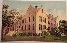 1910 Postcard Of The High School Santa Barbara California Unposted
