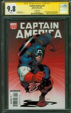 Captain America 25 CGC SS 9.8 Stan Lee Auto McGuinness Variant Death of Issue