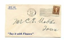 Say it with Flowers advertising 1942 Mufti issue cover Canada