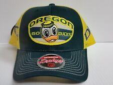 Oregon Ducks Cap Zephyr Adjustable Mesh Snapback Home State Hat NCAA