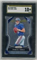 2019 PRIZM DANIEL JONES GOLD PRISTINE RC SGC 10 COMP PSA BGS