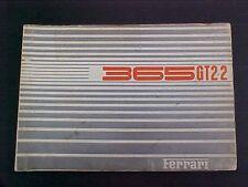 Ferrari 365GT Spare Parts Catalog Manual Book Print 35/69 365GT 2+2 OEM