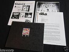 MUSICOM LP COVER ART PRINTS—1993 PRESS KIT w/CATALOGUE—ELVIS/LED ZEP/THE WHO/U2