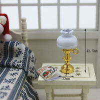 1:12 Miniature table lamp dollhouse diy doll house decor accessories *u