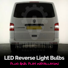 For VW T5 Transporter 2003 - 2015 White Led Reverse Upgrade Light Bulbs *SALE*
