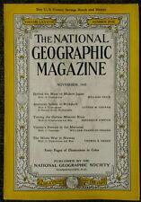 National Geographic magazine November 1945 Behind the Mask of Modern Japan