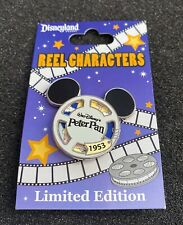 Disney Dlr Reel Characters Peter Pan Film Reel Le 1000 Pin