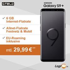 Samsung Galaxy S9 Plus Handy Otelo 6 GB Vertrag nur 29,99€ mtl.