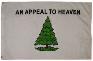 2x3 An Appeal To Heaven 100D Woven Poly Nylon Flag 2'x3' Banner Grommets