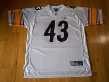 Reebok OnField TROY POLAMALU PITTSBURGH STEELERS Mens NFL Team Replica JERSEY XL