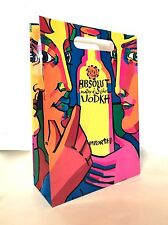 ABSOLUT COLLECTION Limited Edition GIFT BAG Interview Magazine IVAN JENSON VODKA