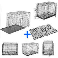 PawHut Cage Chien Cage de Transport pour Chien Pliable Portable 4 Dimensions