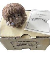 Rare VINTAGE WORLD OF KRYSTONIA #3918, POOKBALL With Crystal ORIGINAL BOX & CARD