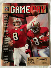 San Francisco 49ers vs Miami Dolphins - Game Day Magazine - November 20, 1995
