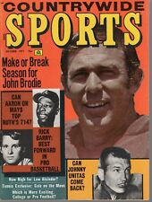 1971 Countrywide Sports Football magazine, John Brodie, San Francisco 49ers ~ VG
