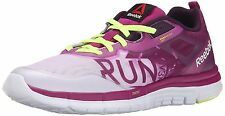 NEW Reebok Zquick Soul GP Seamless Running Shoe Women's 11.5 Fuchsia White Lime