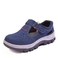 Summer Womens Antislip Anti Puncture Occupational Steel Toe Working Safety Shoes