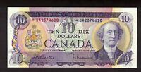 CANADA 1971 $10 BEATTIE RASMINSKY REPLACEMENT NOTE SERIAL *DA2374620 GEM UNC