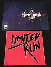 Flinthook Limited Run Games Post Card + Sticker - Rare