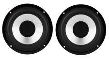 """NEW PAIR 5.25"""" 5 1/4"""" High Definition Aluminum Full Range SubWoofer Speaker 8Ohm"""