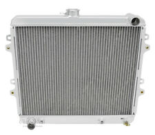 1984-1991 Toyota 4 Runner Radiator, Aluminum 2 Row Champion Radiator, 2.4L L4