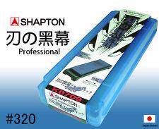 Shapton Kuromaku Japanese Professional Ceramic Whetstone 320 Grit Case Holder