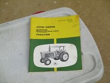 John Deere 4520 Row-Crop Tractor Operator's Manual