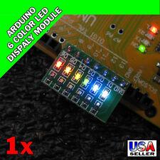 Arduino 6 Color LED Display Module Indicator AVR ARM UNO MEGA2560 Breadboard S15