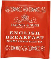 English Breakfast Chinese Keenum Black Tea, Harney & Sons, 50 tea bag