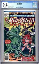 Red Sonja #2  CGC (9.4 NM)  Mar 77 - Bronze Age.