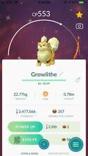 Shiny Growlithe Pokemon Go (use best offer for registered trade)