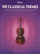 101 Classical Themes for Viola Sheet Music Book Mozart Bach Handel Chopin Liszt