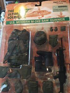 "Ultimate Soldier GI Joe U.S. Modern M-249 SAW Gunner Uniform Set 12"" Figure Set"