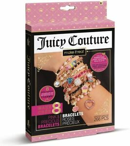 Make It Real Juicy Couture Pink & Precious Bracelet Jewellery Making Kit