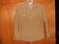 Boys Corduroy OLD NAVY shirt size large