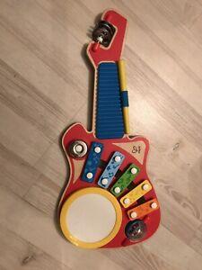 Childrens Hape Wooden 6 In 1 Music Maker