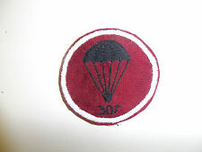 b0857 WW2 US Army Airborne 307th Engineers 82nd Division cap patch PIR R3D