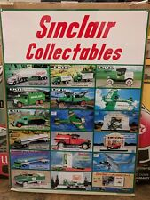 SINCLAIR METAL ADVERTISEMENT SIGN GAS & OIL CO. COLLECTIBLE DIE CAST TRUCK