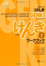 Language study textbooks for sale ebay genki an integrated course in elementary japanese workbook i second edition fandeluxe Images