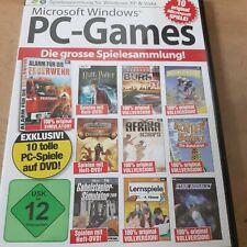 Microsoft Windows PC-Games: Die grosse Spielesammlung! - 10 Original Spiele