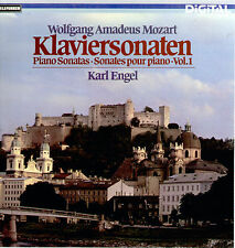 Mozart - Klaviersonaten Vol.1 / Karl Engel 4 LP Box Set