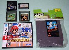 Nintendo Games,NES,DS,Gameboy,Advance,Color,Mario,Duck Hunt,Super Dodge Ball,Lot