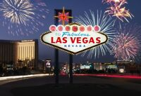 Las Vegas Motivo 1 Targa di Latta Poster Metallo Insegna 20 x 30 cm FA0448