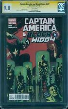 Captain America Black Widow 637 CGC SS 9.8 Francavilla Signed Avengers Top 1