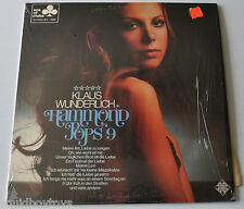 KLAUS WUNDERLICH: HAMMOND POPS #9 LP Record Sexy Cheesecake Cover ACE OF CLUBS