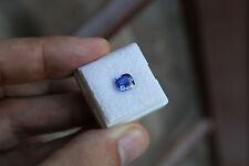 Saphir coussin de Ceylan 1.69ct - IF - Top Blue - CERTIFIE - Magnifique !!!