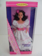 barbie puerto rican dolls of the world puerto rico collector 1996 dotw dol 16754