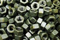 (100) Heavy Hex Nuts 1/2-13 Coarse Thread Hot Dip Galvanized